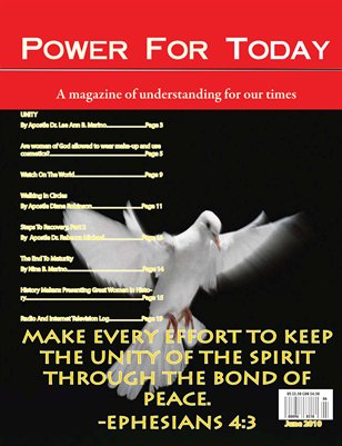 Power For Today Magazine, June 2010