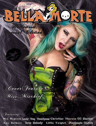 Halloween Coffee Table Book Miss Mischief