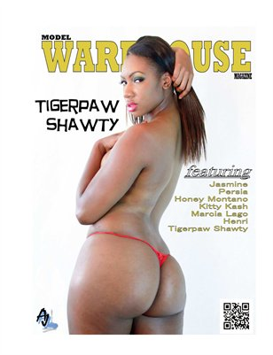 Model Warehouse Magazine Tigerpaw Shawty July 2014 Issue