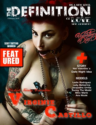 TDM:Love-Ink Virginie Castillo Cover Issue 1