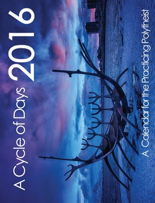 A Cycle of Days- 2016 Calendar for the Practicing Polytheist