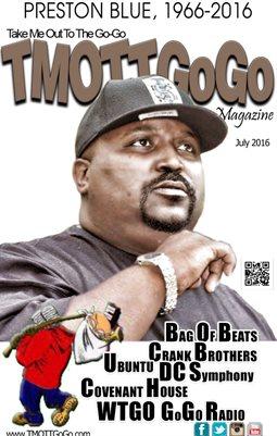 TMOTTGoGo Magazine - Preston Blue Cover - July 2016