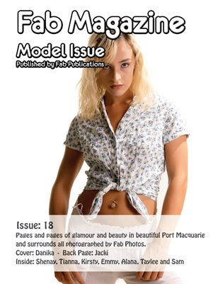 Fab Magazine Model Issue 18