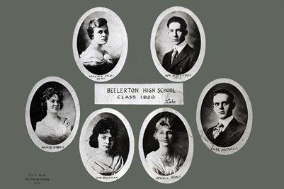 Class of 1920, Beelerton High school, Hickman County, Kentucky