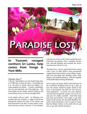 Errol Paulicpulle - Paradise Lost
