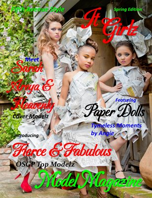 Fifth Avenue Style IT GIRLZ Model Magazine Spring Edition 2014