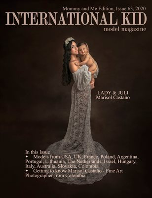 International Kid Model Magazine Issue #63