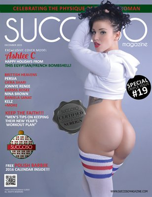Succoso Magazine Triple Issue #19 featuring Cover Model Ashlee C