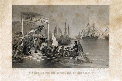 THE DEMAND FOR THE SURRENDER OF NEW ORLEANS