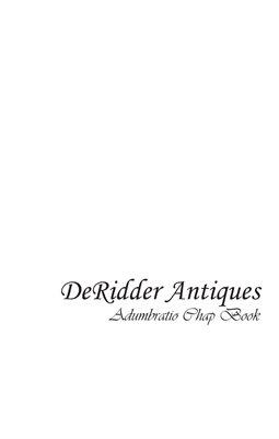 DeRidder Antiques Chapbook