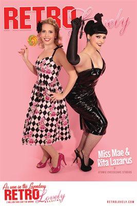 Miss Mae & Rita Lazarus Cover Poster