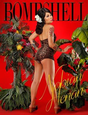 BOMBSHELL Magazine April 2019 BOOK 1 - Nobian Henan Cover