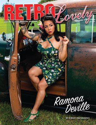 HOT RODS 2020 Vol 4 - Ramona DeVille Cover
