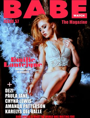BABE WATCH MAGAZINE 57 FT. EMILE