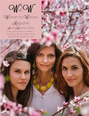 Woman to Woman Magazine Spring/Summer 2016