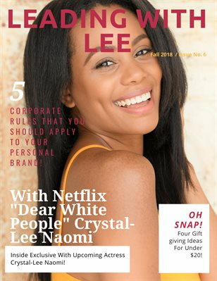 Leading with Lee Magazine Issue #6