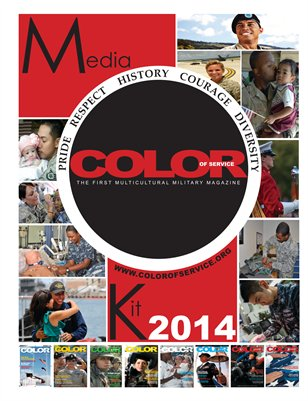 Color of Service Magazine Media Kit 2014