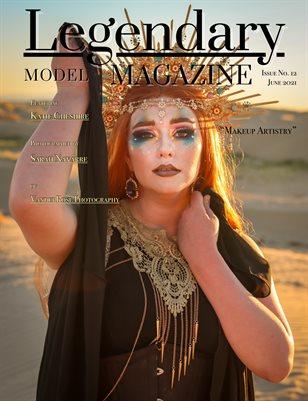 Issue No. 12 - Makeup Artistry - Legendary Model Magazine