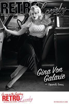 Gina Von Galaxie Hot Rod Poster