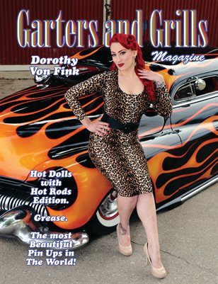 "Dorothy Von Fink ""Hot Dolls with Hot Rods"