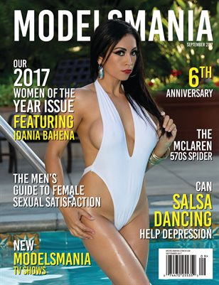 MODELSMANIA SEPTEMBER 2017 IDANIA BAHENA
