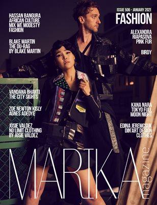MARIKA MAGAZINE FASHION (ISSUE 506 - January)