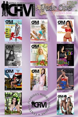 Poster CFM Magazine/USA Models Magazine Year One