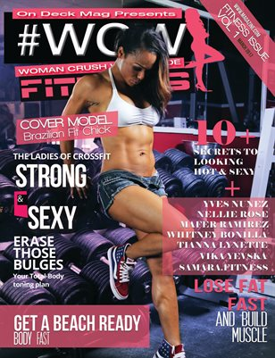 WCW Magazine Fitness Edition Vol 1 Lia