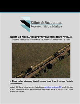 Elliott and Associates Energy Review: 40 % Coupé en Gaz à effet de Serre d'ici à 2025