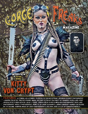 Issue 41 Cover Model: Kitty Von Crypt