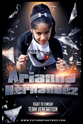 Arianna Hernandez Poster