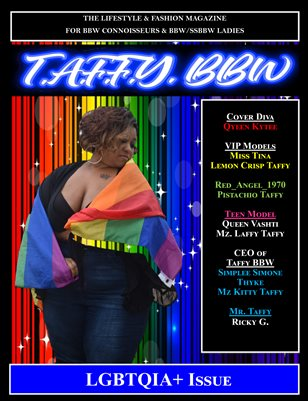 TAFFY BBW MAGAZINE - LGBTQIA+ISSUE NOV. 2020