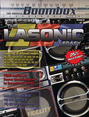 Boombox Magazine Issue 6