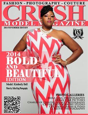 CRUSH MODEL MAGAZINE 2014 BOLD AND BEAUTIFUL EDITION