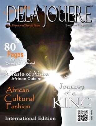 Simply Dela Jouere Fashion Magazine -  African Cultural Fashion International Issue - Spring 2021