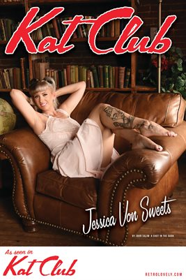 Kat Club No.37– Jessica Von Sweets Cover Poster