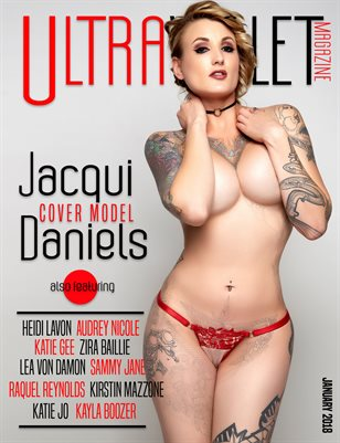 ULTRAVIOLET Magazine: January 2018, Jacqui Daniels