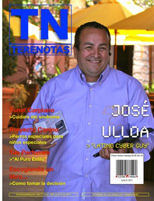 Jose Ulloa. Latino Cyber Guy