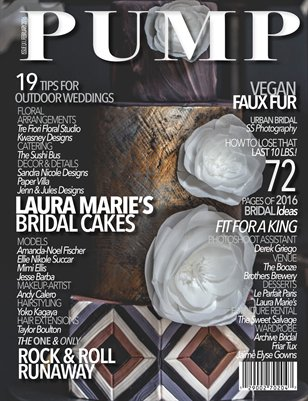 PUMP Magazine Bridal Edition Issue 61
