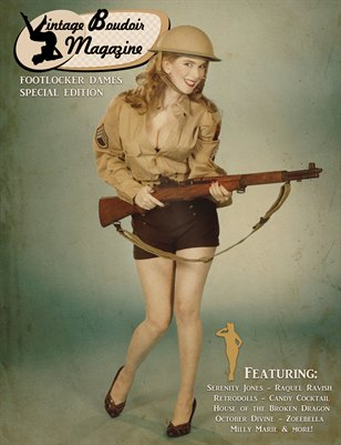Vintage Boudoir Magazine - Footlocker Dames III - Military Gals