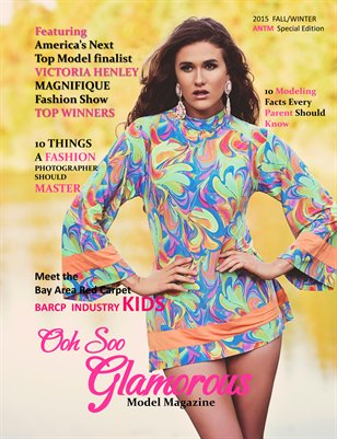 OOH SOO GLAMOROUS MODEL MAGAZINE ANTM Edition Fall/Winter  2015
