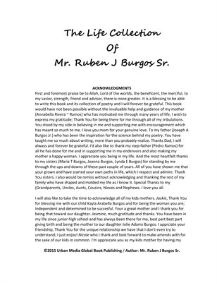 The Life Collection Of Mr. Ruben J Burgos Sr.