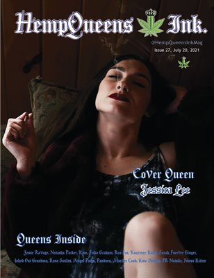 HempQueens Ink. Magazine ~ Issue 27 ~ Jessica Lee