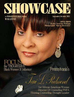 "SHOWCASE Magazine the ""PROGRESSIVE"" Black Woman September/October 2021 Edition"