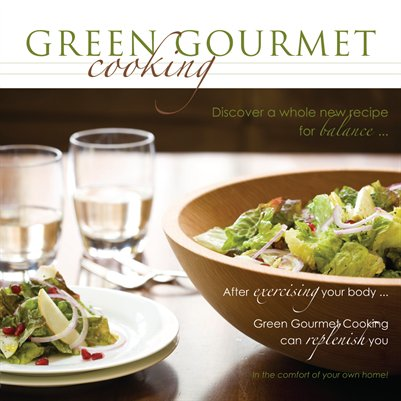 Green Gourmet Cooking - Pamphlet 1