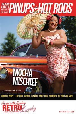 Pinups + Hotrods Volume 2 – Mocha Mischief Cover Poster