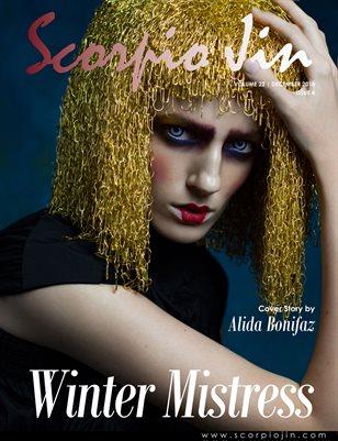 SCORPIO JIN MAGAZINE VOLUME 22 | DECEMBER 2018 | ISSUE 4