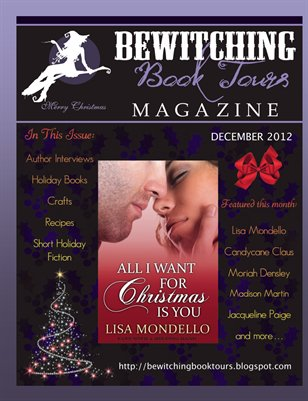 Bewitching Book Tours Magazine December 2012
