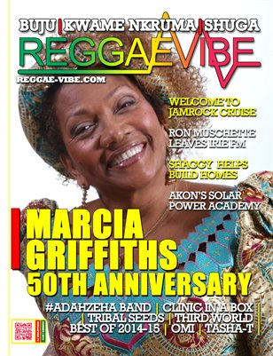Reggae Vibe Magazine Summer Issue 2015