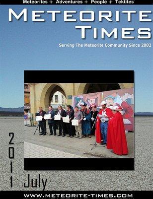 Meteorite Times Magazine - July 2011